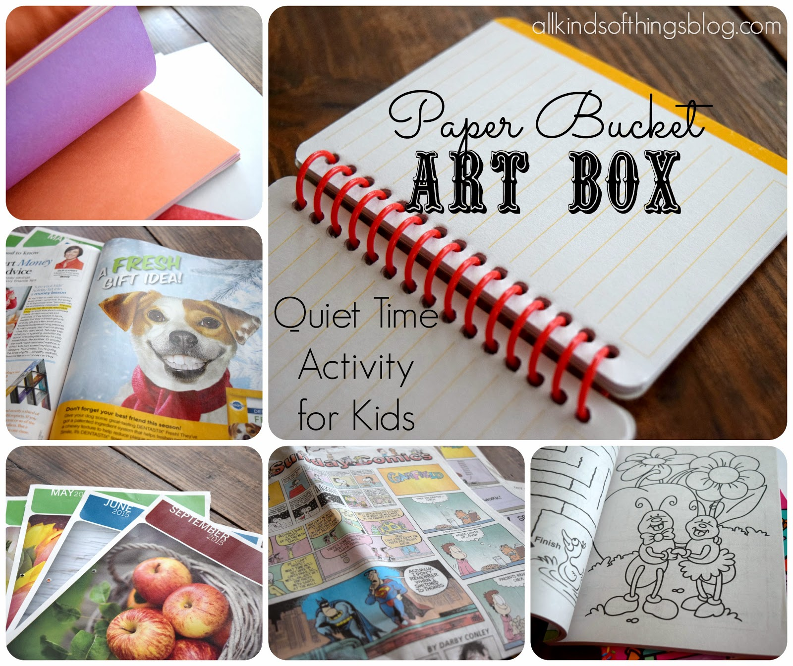 Paper Bucket Art Box