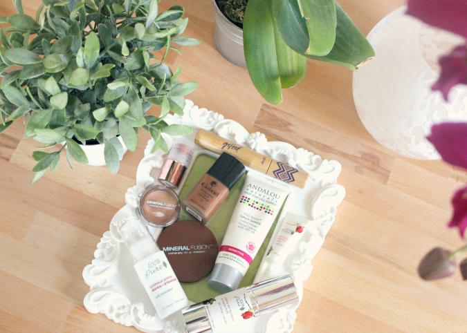 Organic skin care and makeup