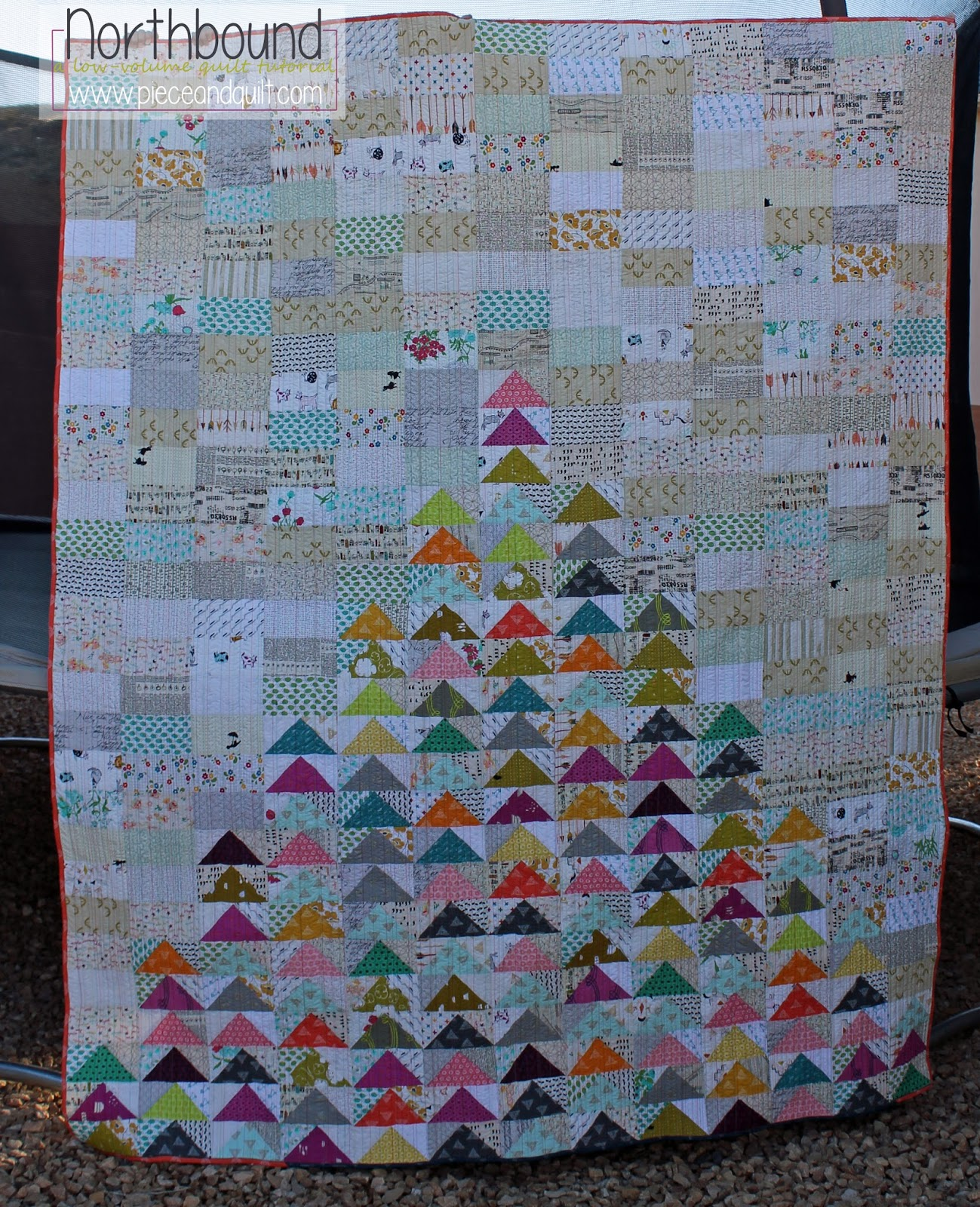 Piece n quilt northbound a low volume quilt tutorial the quilt was so much fun to make i thought id share a little tutorial with you today baditri Choice Image