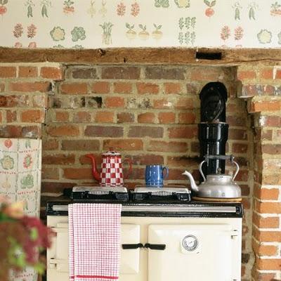 Decora el hogar decora con papel tapiz tu cocina - Papel para paredes de cocina ...