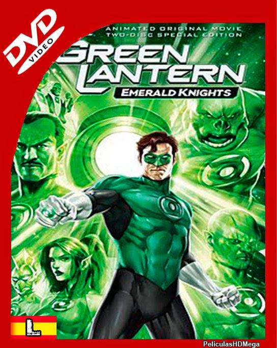 Linterna Verde: Caballeros Esmeralda (2011) DVDRip Latino