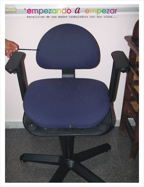 Empezando a empezar c mo tapizar una silla tutorial - Materiales para tapizar sillas ...