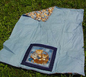 how to make a quillow blanket