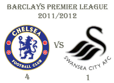 Chelsea vs Swansea City Results Barclays Premier