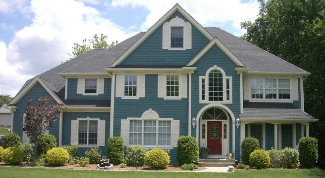 As melhores cores para o exterior da casa decora o e ideias for Colores modernos para exteriores