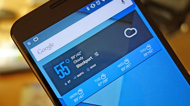 5 widgets for android Lollipop