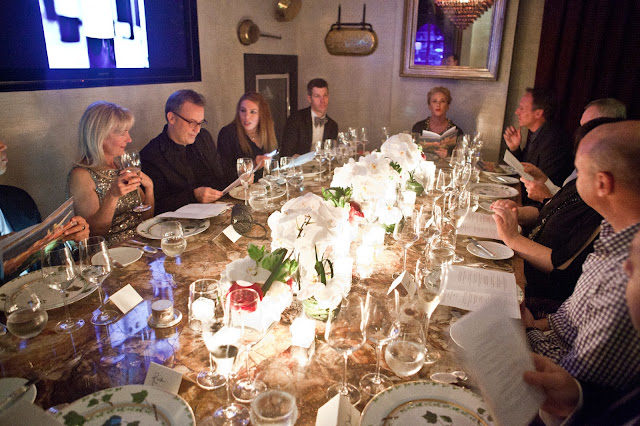 Bouley private dining room