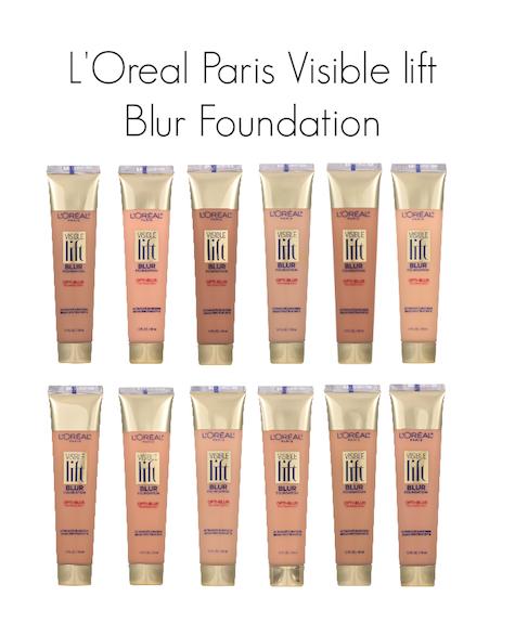 Divadebra l oreal paris visible lift blur foundation