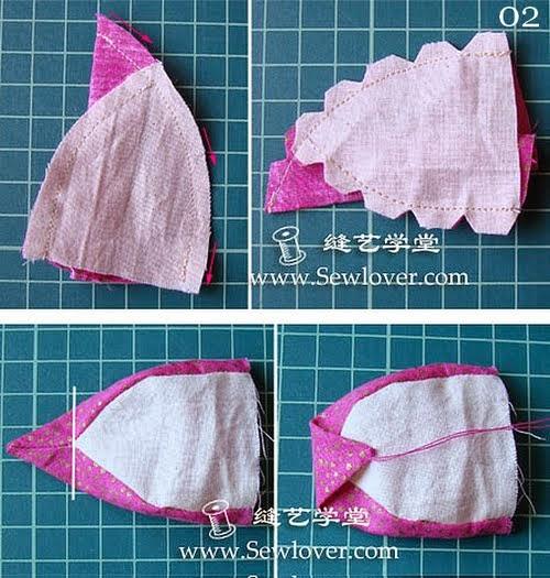 Corujinhas para fazer de tecido