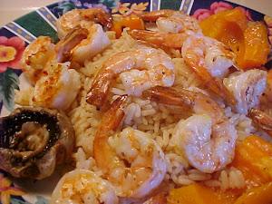 Crevettes sur bbq façon chinoise