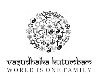 World is One Family.