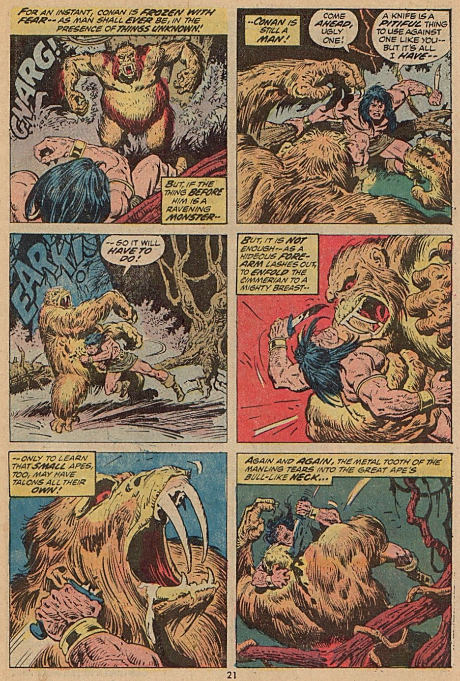 Conan the Barbarian (1970) Issue #28 #40 - English 16