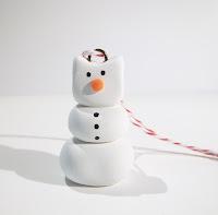 Snowcat Kitty Cat Snowman Ornament