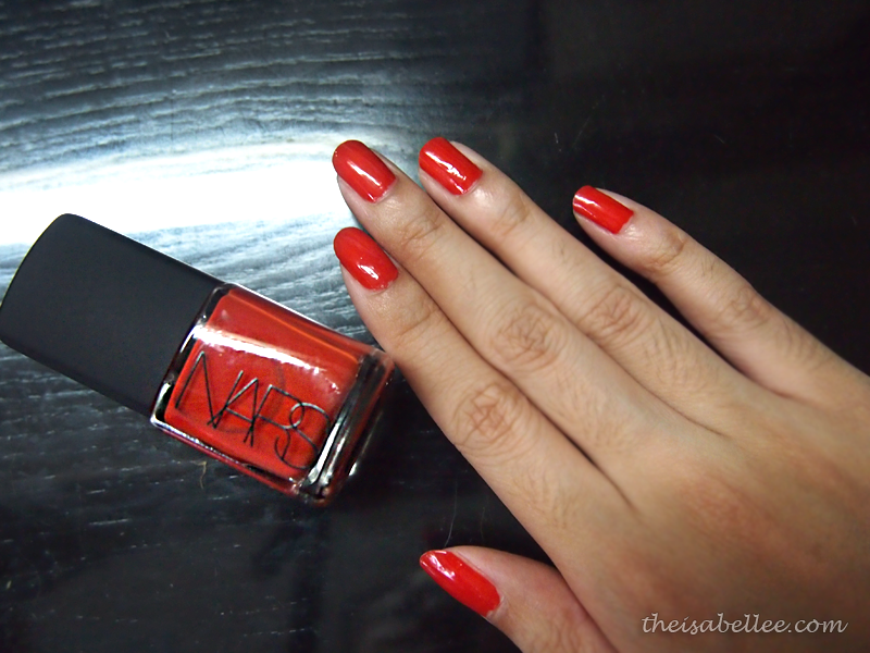 NARS Libertango Nail Polish on nails