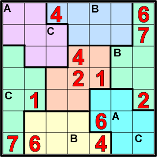 retos matematicos, problemas de ingenio, problemas de ingenio matemático, matemática divertida, Sudoku, Variantes del Sudoku, Sudoku 7x7