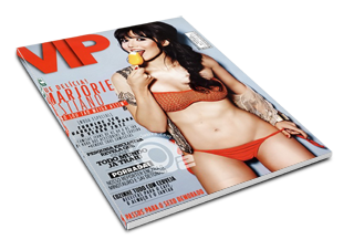 Revista Vip Marjorie Estiano Outubro 2011