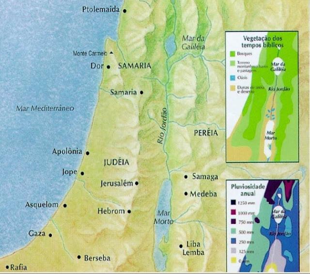 Mapa Jerusalem nos tempos de Jesus, Nostradamus 2 dentes garganta