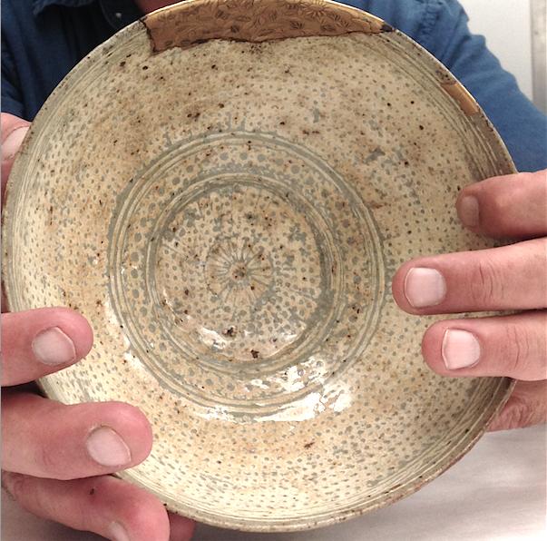 Korean Bowl Freer Sackler Gallery Smithsonian repaired gold