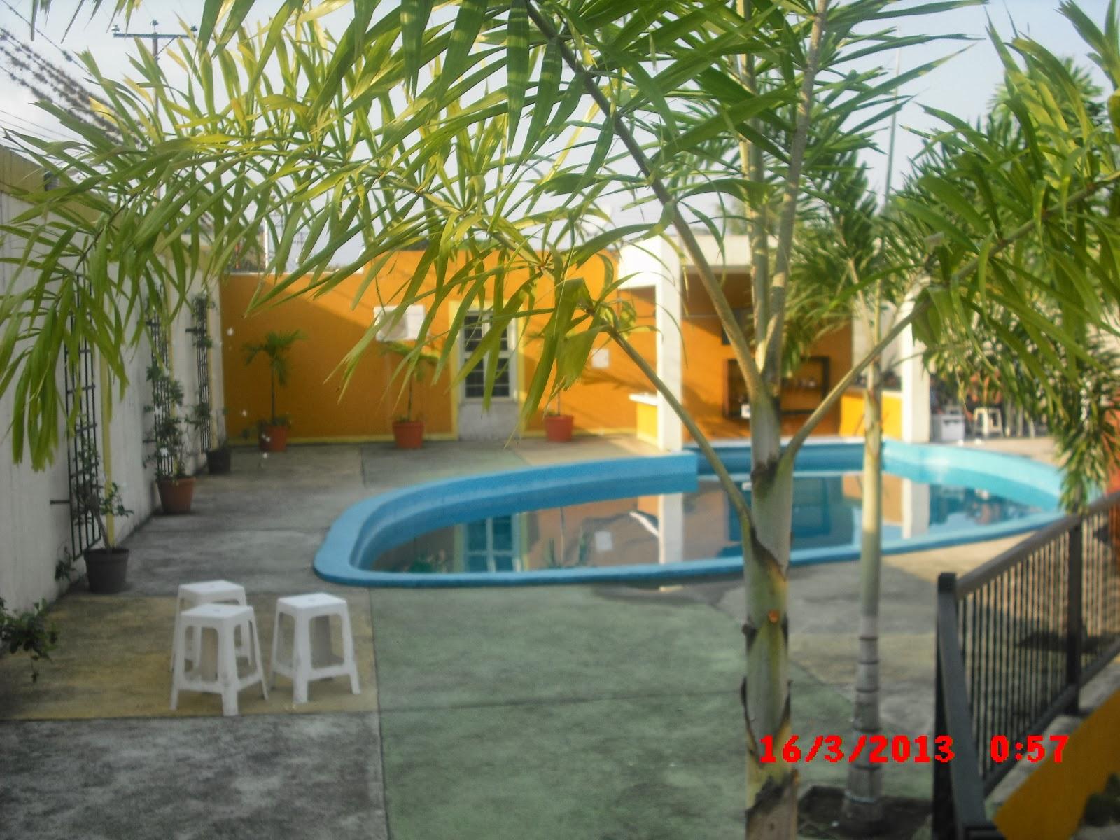 HOTEL MERIDA CONFORT BARINITAS PISCINA Y AREA DE RECREACION