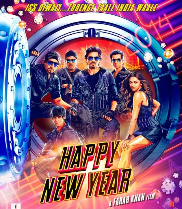 Bollywood movie Happy New Year(2014) film First Look Poster, Pictures, images, wallpapers