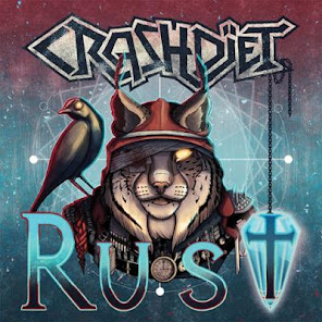 Crashdïet Rust Frontiers Records September 13, 2019
