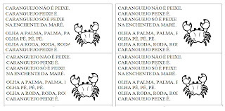 Parlenda - Caranguejo