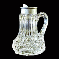 EAPG Syrup Pitcher, Clear, Kanawha