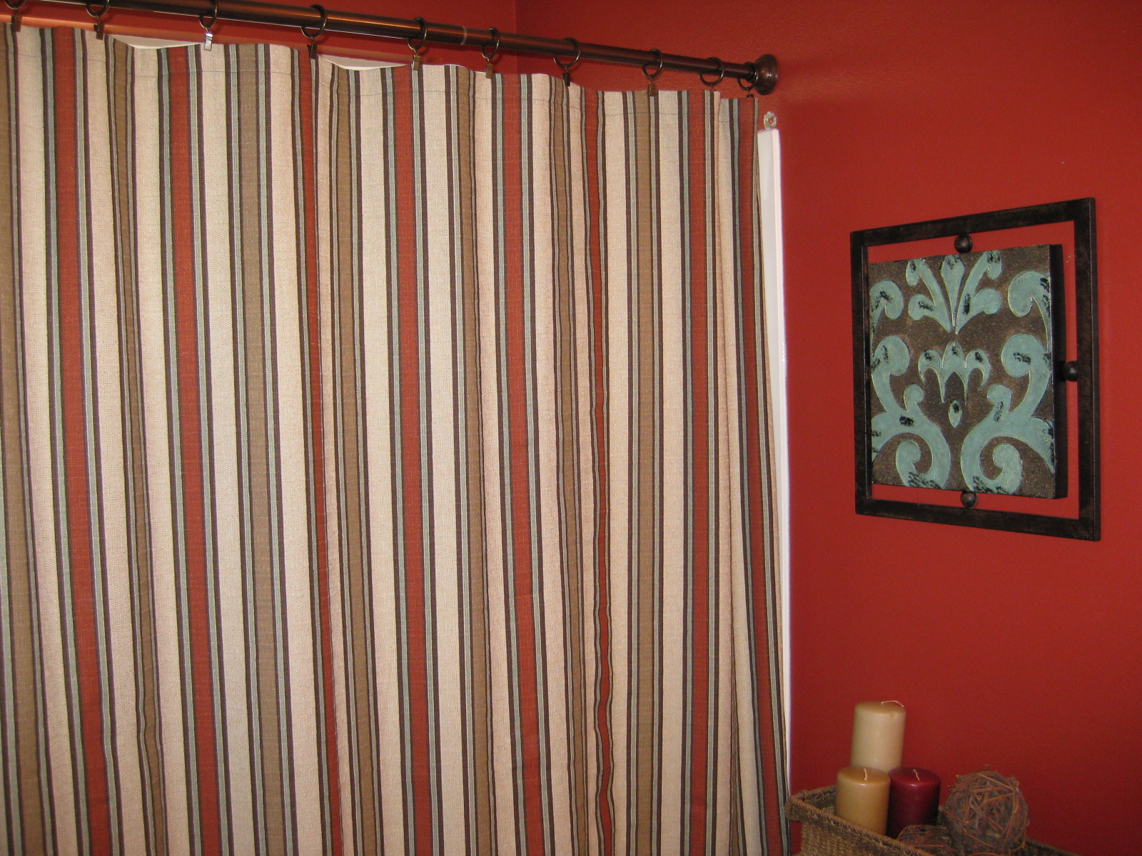 TDA decorating and design: My Own Handmade Shower Curtains