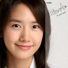 Foto tanda tangan Yoona SNSD