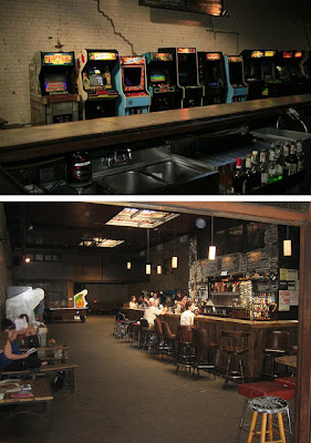 Barcade bar in brooklyn