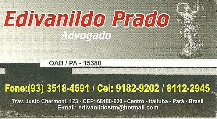 EDIVANILDO PRADO