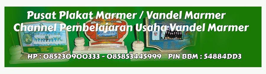 Tonton Video Tutorial Pembuatan Vandel Marmer Di Channel Youtube Kami ,KLIK GAMBAR DIBAWAH INI ..!!
