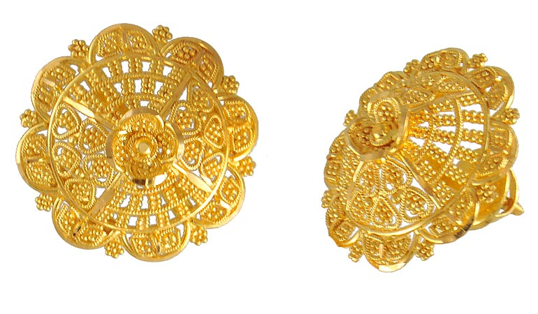 Elegant Welcome To Fashion Forum Indian Gold Earrings