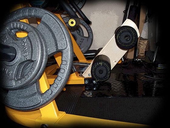 Powertecwb ls10 homemade gym stuff cosas for Gimnasio casero