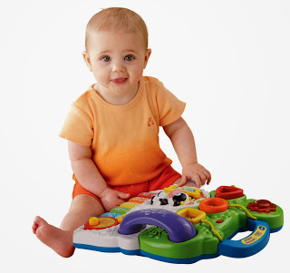 Vtech Sit-To-Stand Learning Walker on the floor