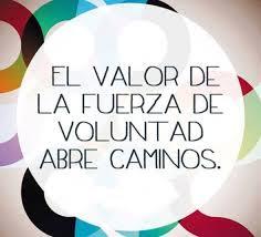 Valor de la Voluntad