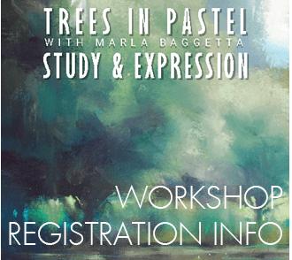 Trees in Pastel