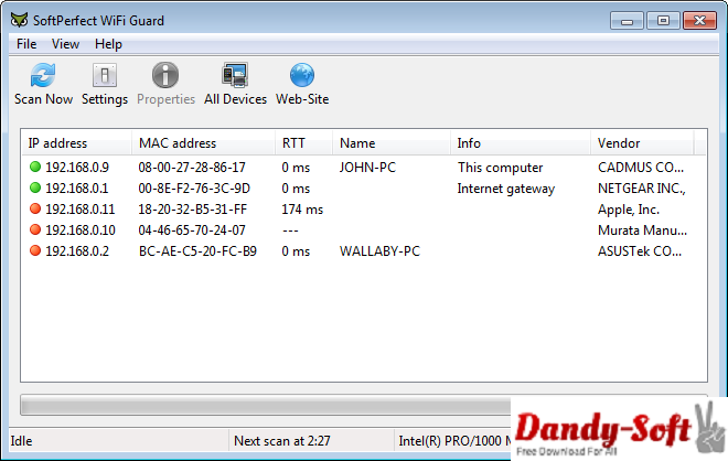 SoftPerfect WiFi Guard 1.0.4