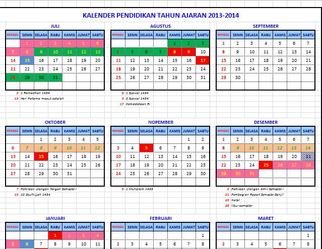 Prakiraan Kalender Pendidikan