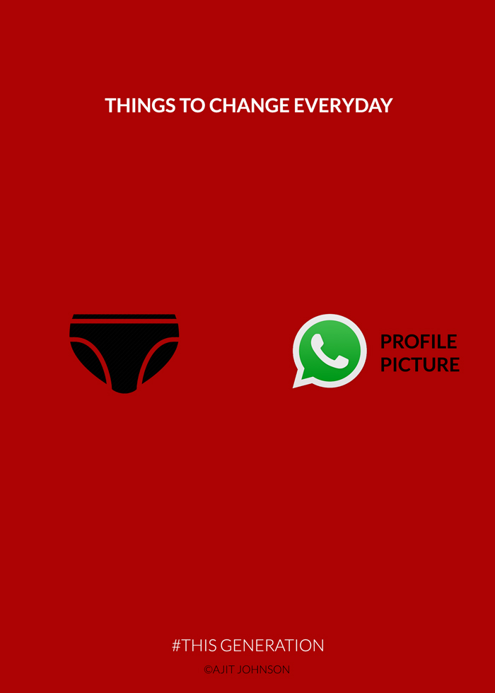 this generation thinks to change everyday