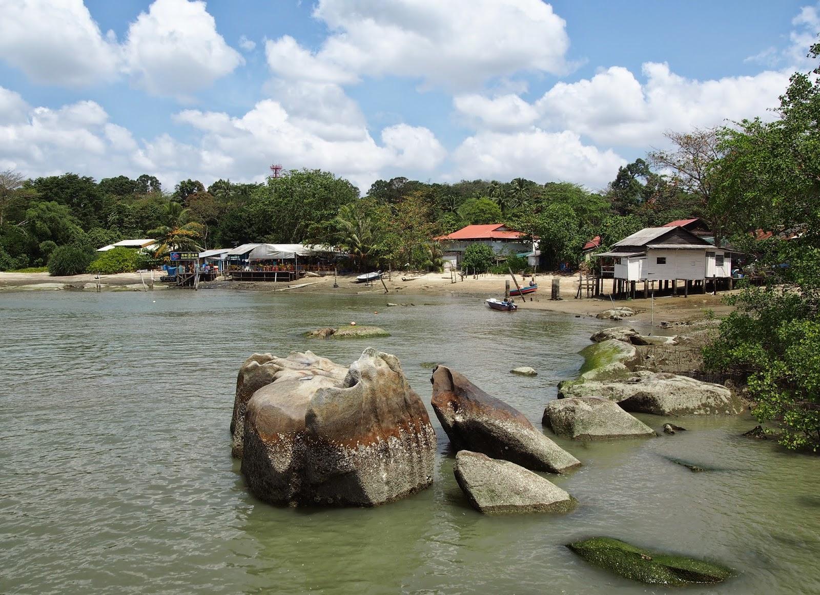 Pulau Ubin in Singapore