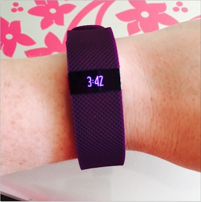 Plum FitBit Charge HR