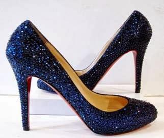 Calçados para bodas de cristal