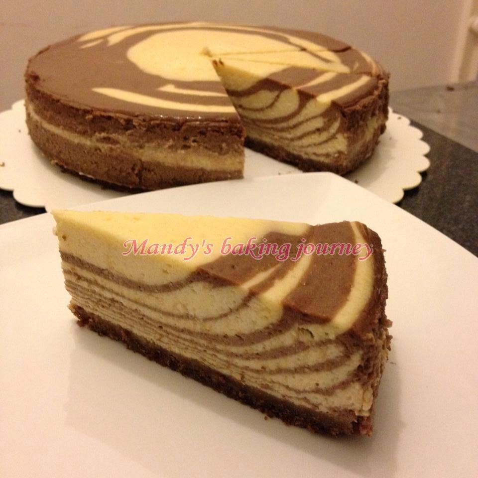 Mandy's baking journey: Baileys Cheesecake