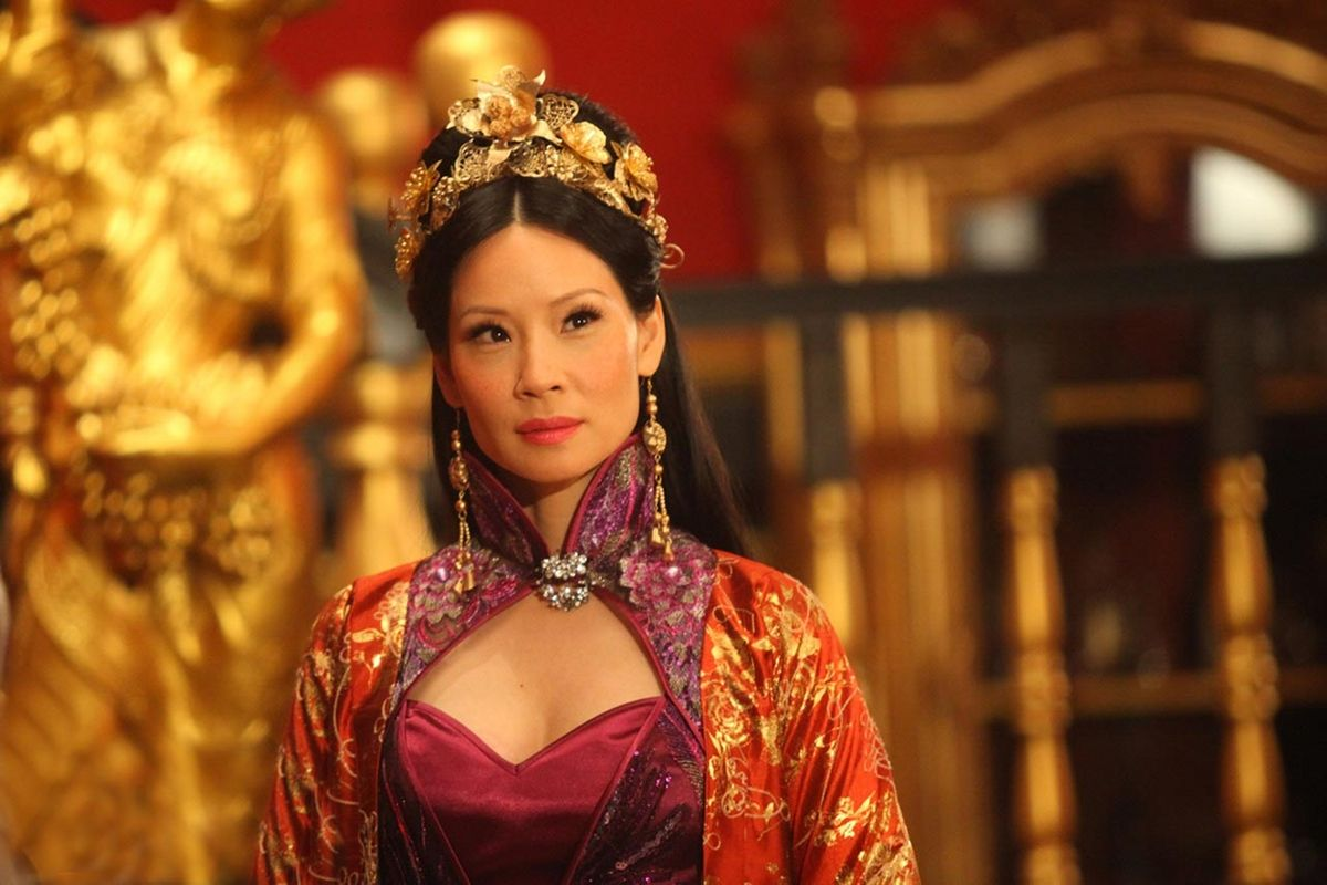 Movie Buff's Reviews: LUCY LIU PLAYS MADAME BLOSSOM IN THE ...