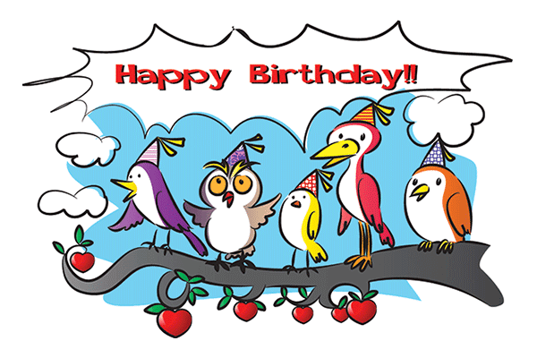 Birthday Birds
