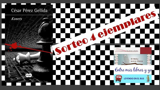 Sorteo conjunto de Konets de César Pérez Gellida