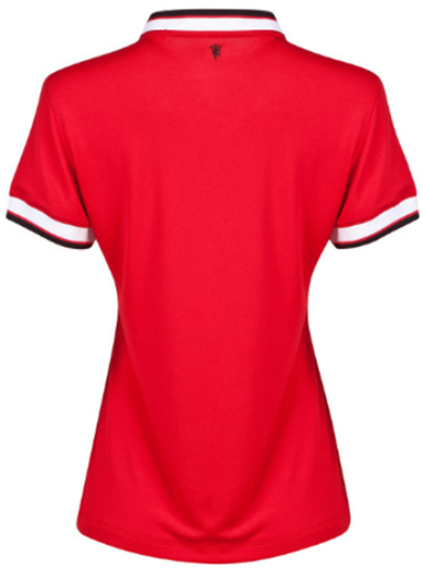 14-15 Manchester United Home Thailand Women Soccer Jersey