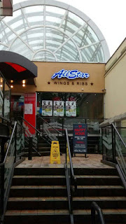 All Star Wings & Ribs Main Entrance