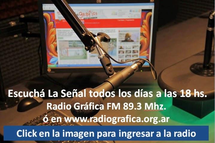Gabriel Fernandez y el equipo de La Señal Medios